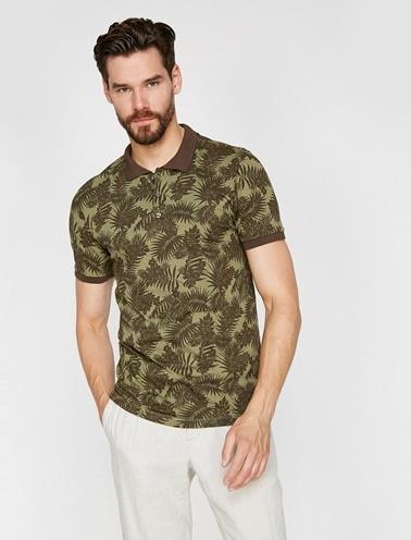 Koton Polo Yaka T-Shirt Yeşil